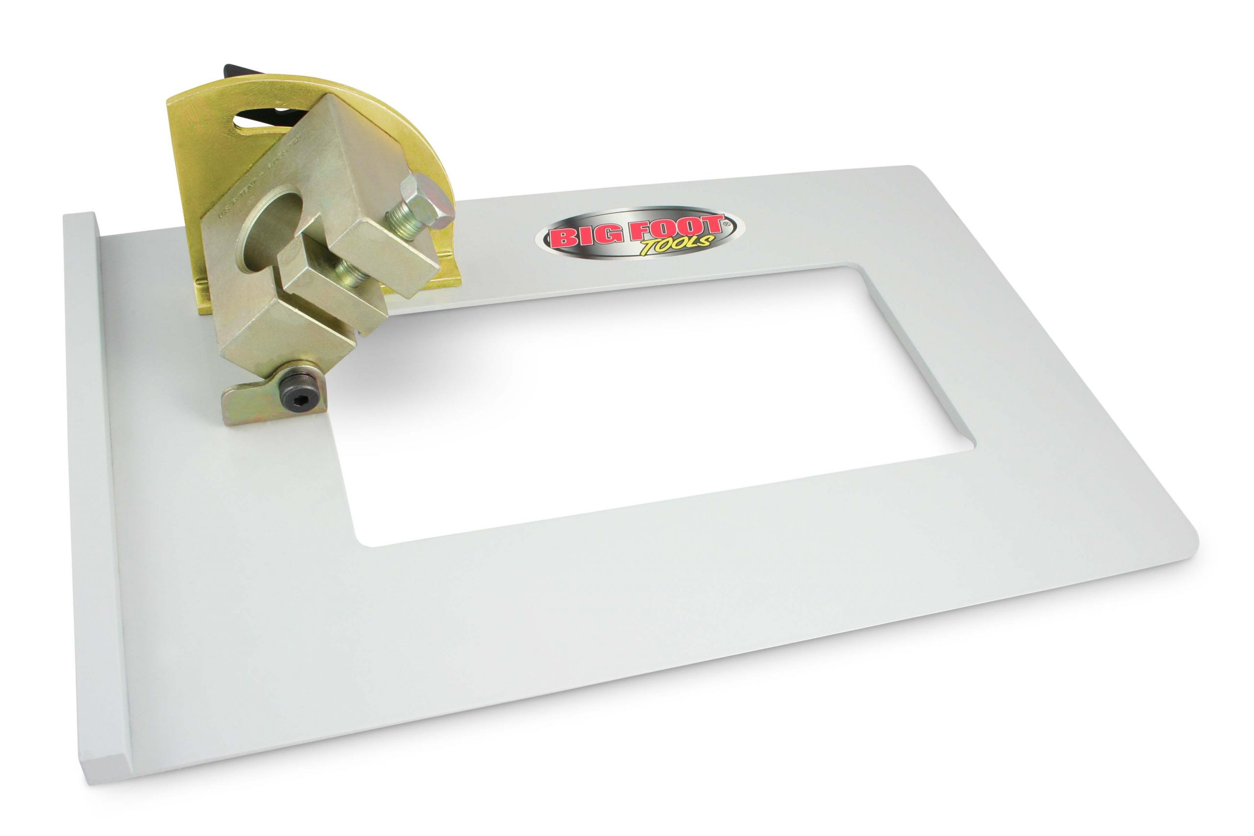 Big Foot Head Cutter - Powder Coated Aluminum Base Plate