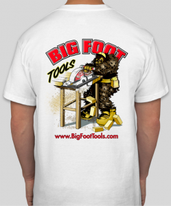 Big Foot T-Shirt Back