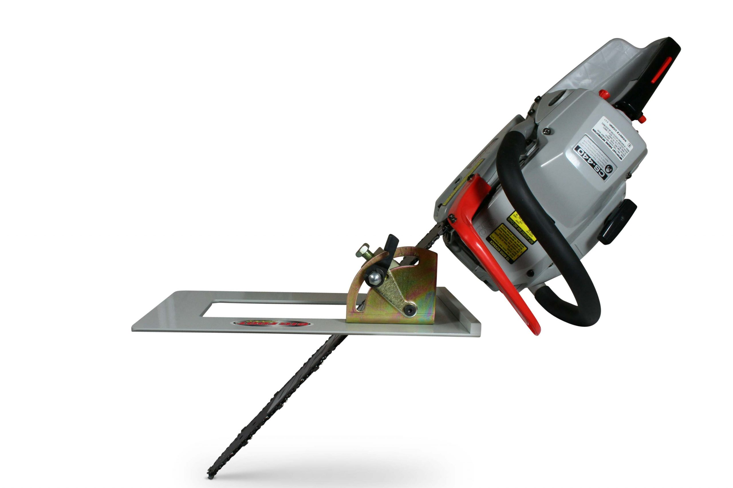 Big Foot Head Cutter - The Proper Angle Every Time