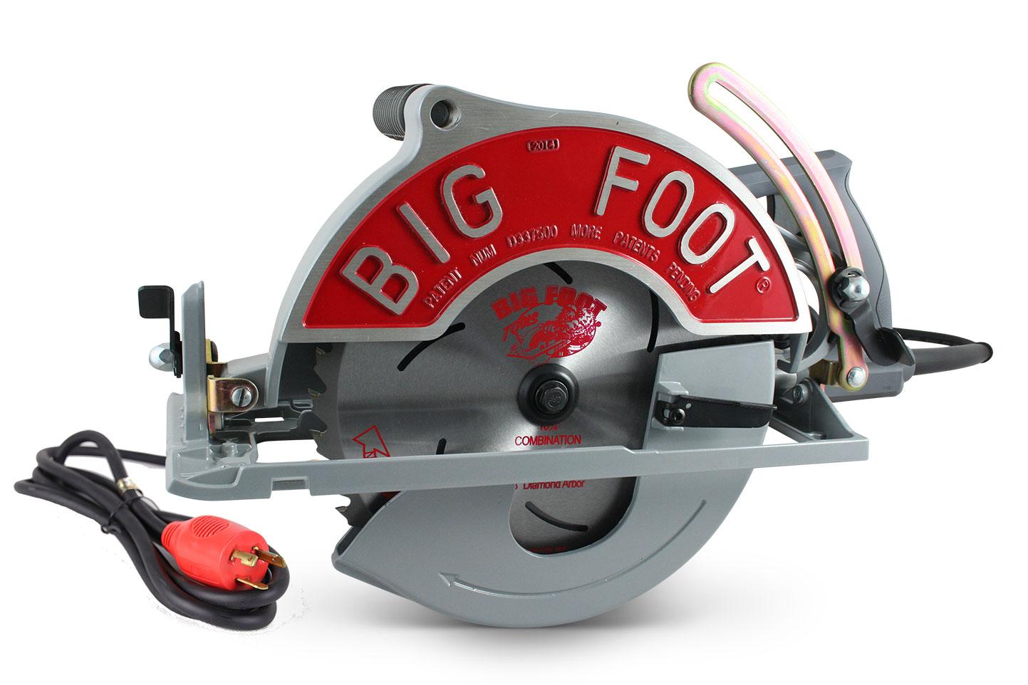 The Original 10-1/4 Big Foot Beam Saw w/Twist Lock Cord
